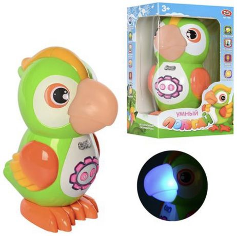 Интерактивная игрушка - Умный Попугай/ Интерактивный попугай HD звук.