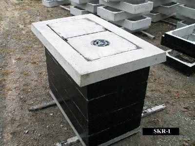 Studnia kablowa SKR-1 czteroelementowa producent StudnieKablowe.pl