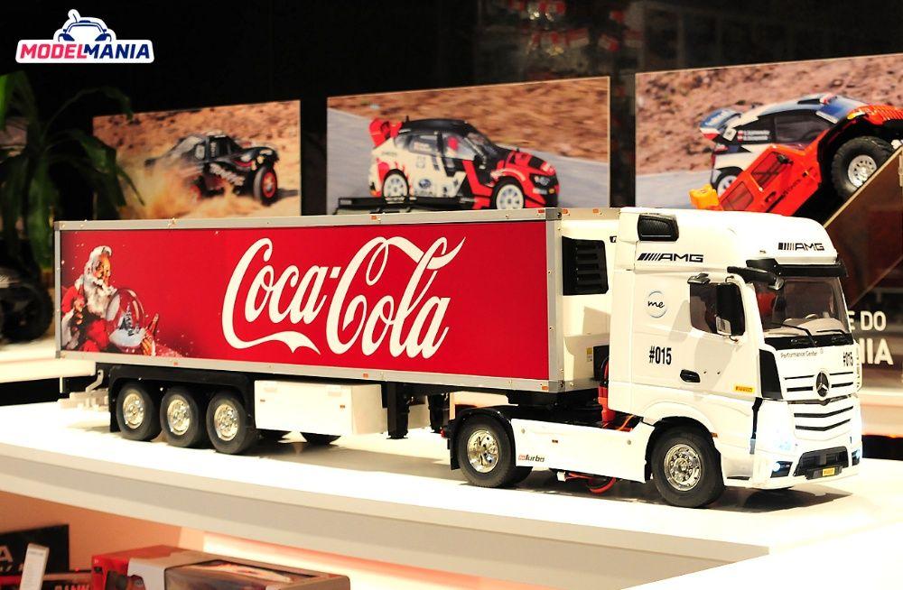 Tamiya ciężarówka zdalnie sterowana 1:14 Man Mercedes Scania Toruń - image 1