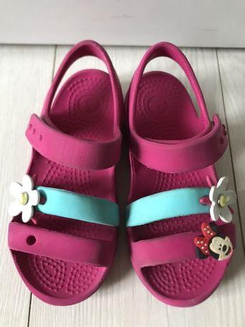 Crocs, кроксы для девочки С10, стелька 16,5 см.