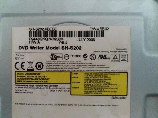 Дисковод DVD Writer Model SH-S202