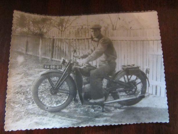 Мотоциклист. Ранние Советы.
