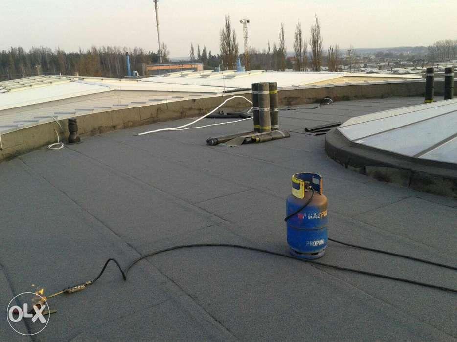 Krycie papą termozgrzewalna,dachy płaskie systemowe Białystok - image 1
