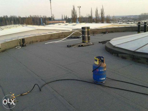 Krycie papą termozgrzewalna,dachy płaskie systemowe