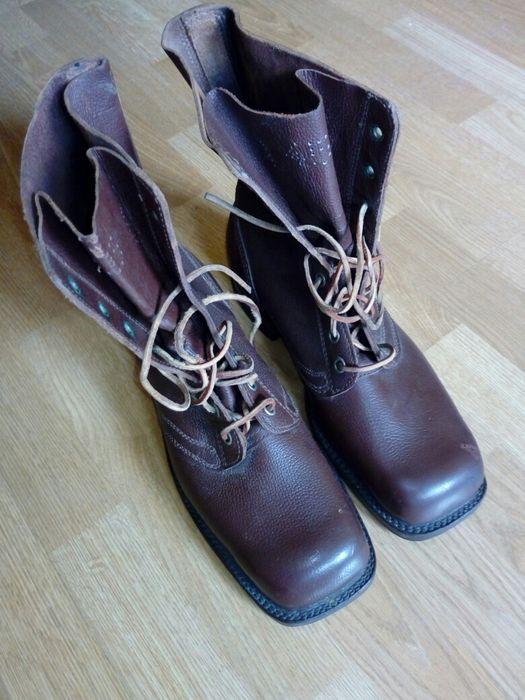 Buty wojskowe rozmiar 45 1954 rok Warszawa - image 1