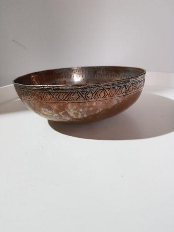 Stare Orientalne  naczynie miedziane