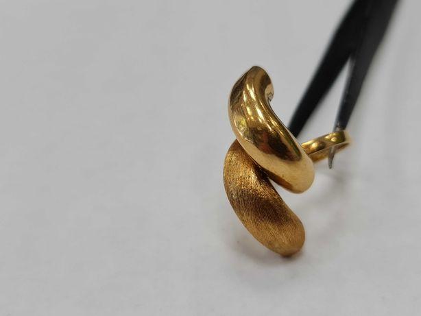 Wyjątkowy złoty pierścionek damski/ 750/ 8.25 gram/ R14/ Lite złoto