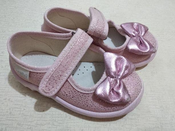 Туфельки, тапочки 22 размер (14,1 см)