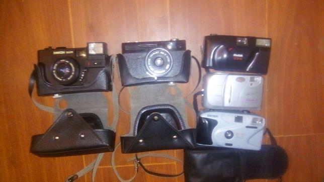 Старі фотоапарати