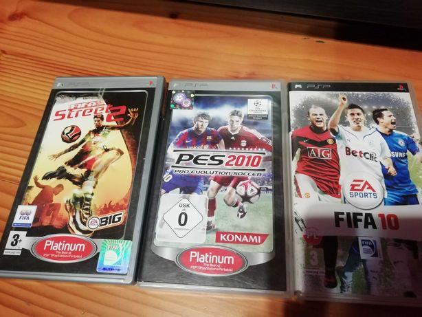 Gry na PSP piłka nożna