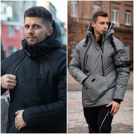 Утепленная парка LC Smart, наложка, топ качество, куртка зимняя.