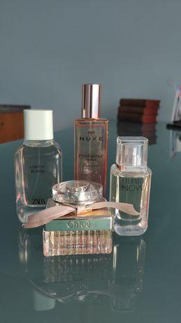 Vários perfumes novos