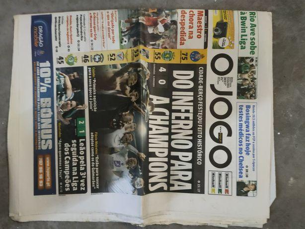 Jornal Vitória SC Liga dos Campeões