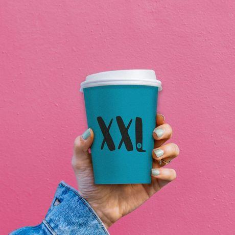 Стильные стаканы для кофе. Бумажный стакан
