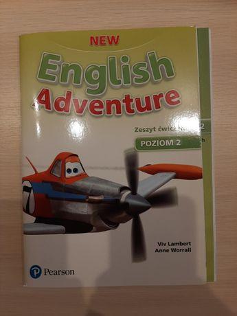 New English Adventure 2 ćwiczenia - Nowe