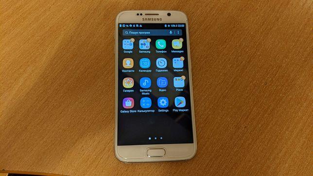 Samsung Galaxy S6 sm-g920p 3 ГБ / 32 ГБ  8 ядер