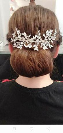 Grzebień ślubny/ ozdoba do włosów