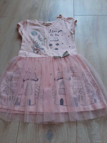 Sukienka 98 różowa
