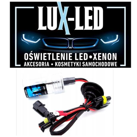 Lux-Led żarnik palnik xenon ksenon h1 h7 d2s d2r