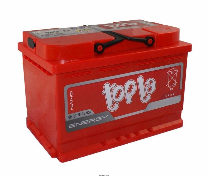 Akumulator TOPLA 12V 60Ah 600a Dowóz Montaż Serwis Auto Moto Greg