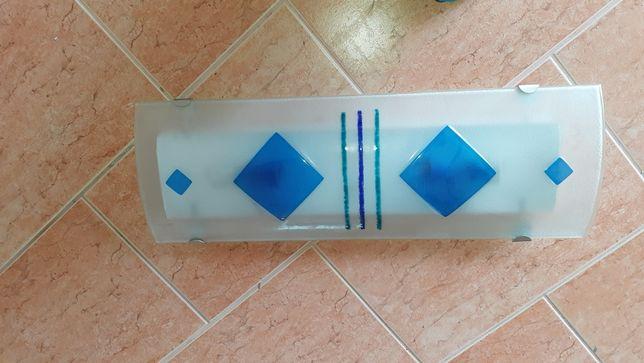 Candeeiro em vidro fusing