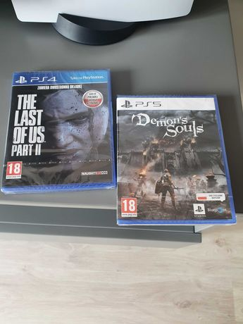 Demons souls + The lous part 2 na playstation5