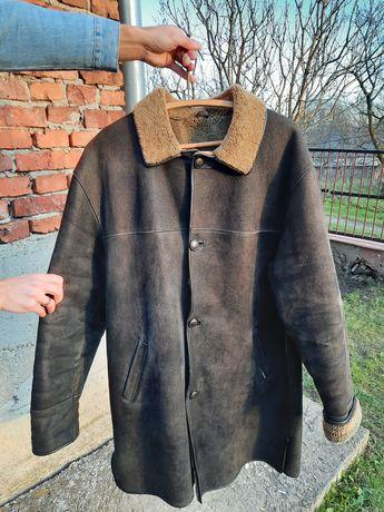 Элегантная Натуральная Мужская Дубленка HORNIK Leather 5XL