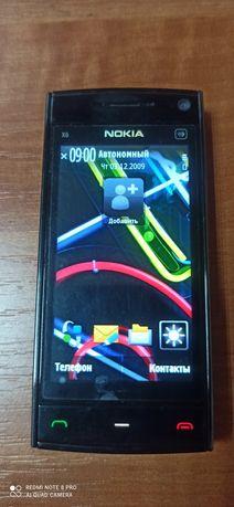 Мобильный телефон Nokia X6 Black