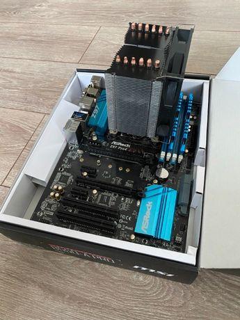 i5 4670k + Płyta Asrock Z97 Pro4 + G.SKILL DDR3 2x4GB + Silentium PC