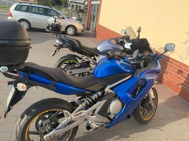 Kawasaki er6-f tanio