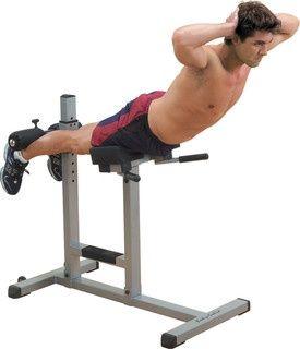 Ławka do ćwiczeń brzucha, grzbietu i pośladków Hyperextense BODY-SOLID