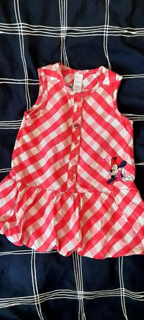 Красивое летнее платье сарафан Disney + подарок платье Next