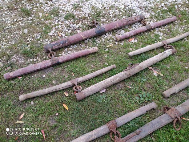 Stara drewniana waga konna Orczyk orczyki PRL