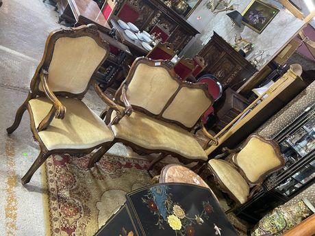 Wypoczynek / fotele + kanapa / antyki stylowy wegrow