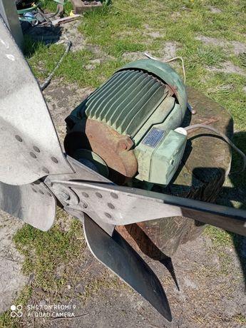 Wentylator do obory . 80cm aluminiowy . 1.5kw AEG .3 sztuki