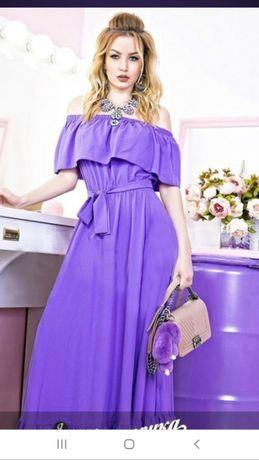 Платье в пол. Новое