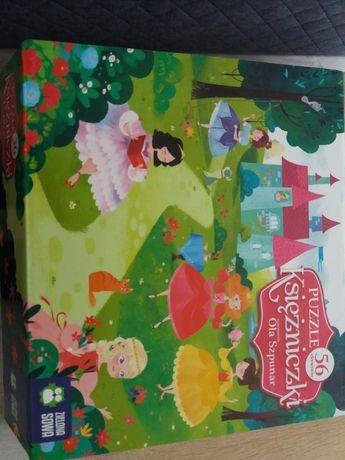 Puzzle 56 zielona sowa