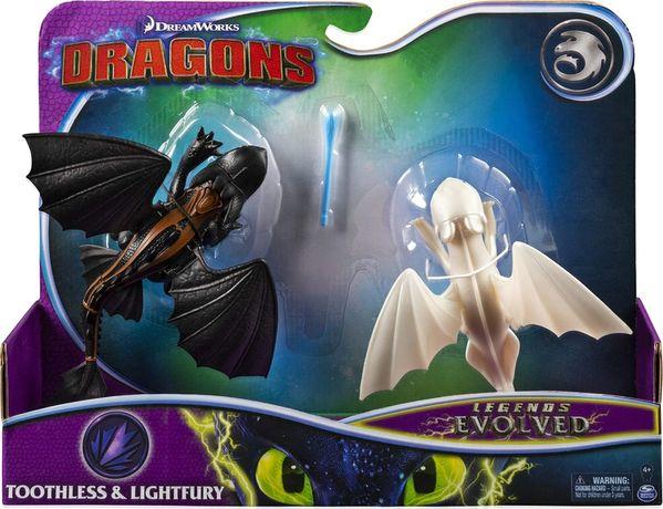 Dragons Legends Evolved Toothless and Lightfury Беззубик фурия драконы