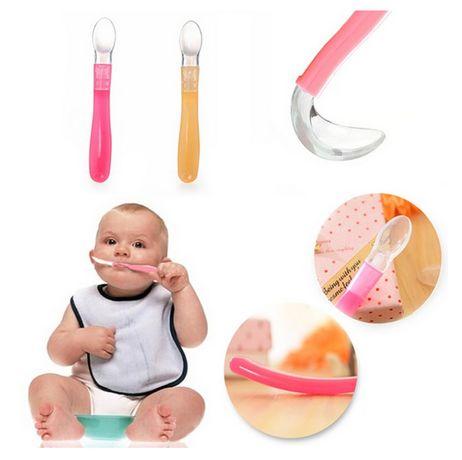 Colheres Silicone Bebé 1a Papa/Sopa