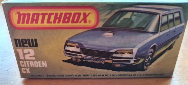 Matchbox 12 Citroen CX - tylko pudełko