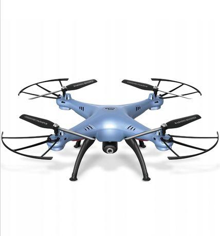 Dron z kamera syma