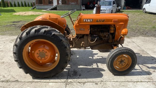 Ciągnik traktor fiat 411 r