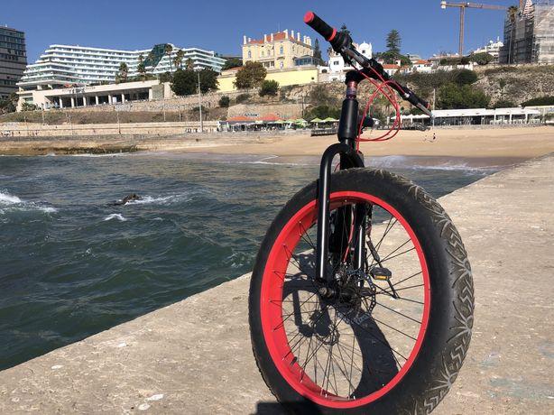 Fat bike como nova