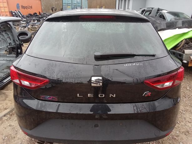 Klapa bagażnika Seat Leon III 5F 3d kolor LZ9Y