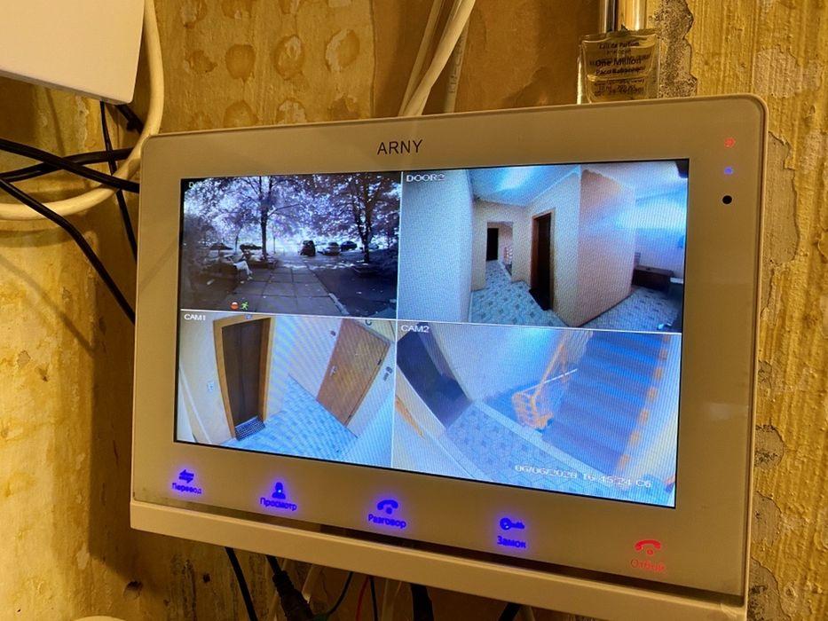 10Дюймоы ARNY 1025 Wifi Квадратер Видеодомофон Регистратор Домофон Киев - изображение 1