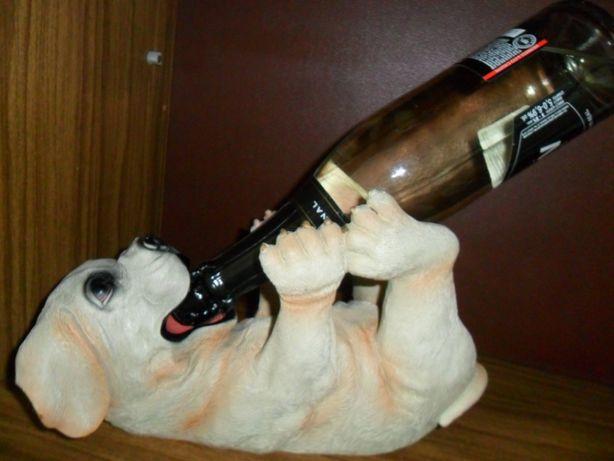 Статуэтка подставка под бутылку  Сувенир Собака