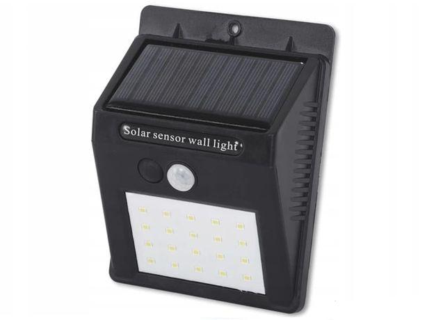 LAMPY SOLARNE halogen 30LED czujnik ruchu zmierzchu