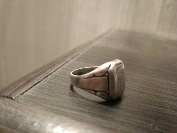 sygnet srebrny męski 17mm rozm. 12