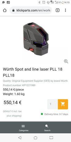 Laser wurth semi-novo