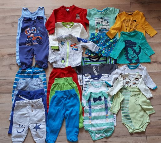 Komplet ubrań dla chłopca roz 68-74, firmy Pepco, Morfi, Reserved, F&F